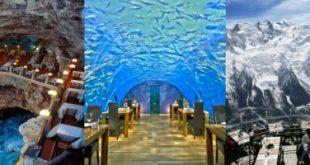 Top 9 Nhà hàng có view đẹp nhất trên thế giới